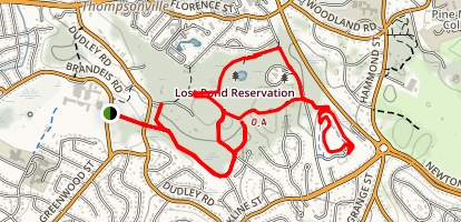 Lost Pond Conservation Area Map