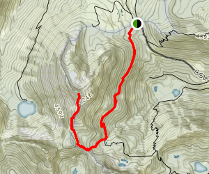 Silver Peak Trail Map