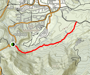 Mammoth Rock Trail Map
