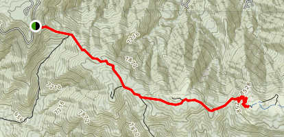 Vincent Tumaiiat Trail-Peak to Peak Map