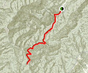 Rough Fork Trail Map