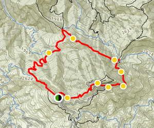 Mount Diablo Grand Loop Trail Map