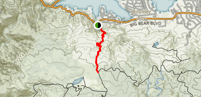 Castle Rock Trail Map