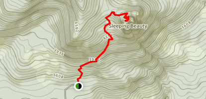 Sleeping Beauty Trail Map