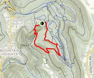 McKay Hollow Trail Map