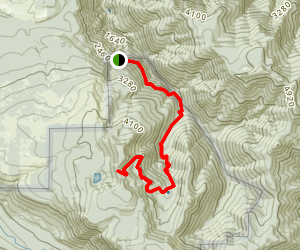 Goat Creek Trail Map