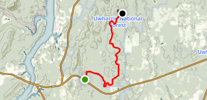 Dutchmans Creek Trail Map