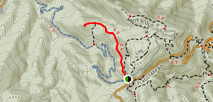 Tenderfoot Trail Map