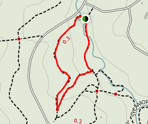 Oak Rock Trail Map