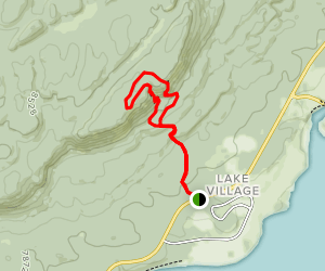 Elephant Back Mountain Trail Map