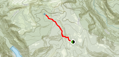 Toquer Lake Trail Map