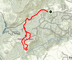 Fitton Green Natural Area Trail Map