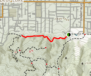 Town Trail Map