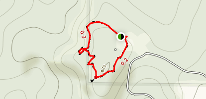 Garden of the Gods Observation Trail Map
