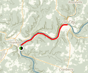 Allegheny River Trail Map