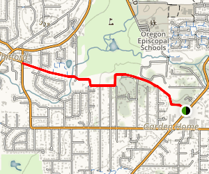 Fanno Creek Regional Trail Map