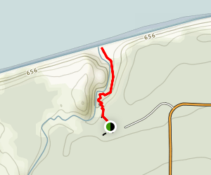 Sable Falls Trail Map