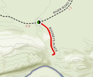 Rooney's Place trail Map