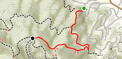 Huckleberry Trail Map
