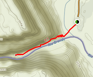 Santa Elena Canyon Trail Map