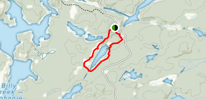 Lake of the Woods Trail Map