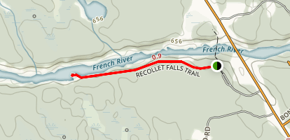 Recollet Falls Trail Map