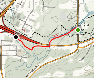 Hillfield Trail  Map