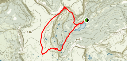 Lost Lakes - Devils Causeway Map
