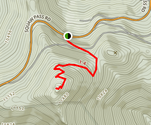 Chief Mountain Trail Map