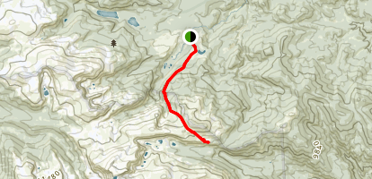 Stormy Peaks Trail Map