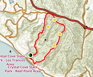 Crystal Cove Perimeter Loop Map