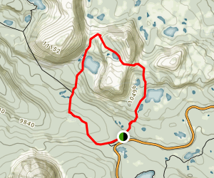 Lofty Lake Loop Trail Map