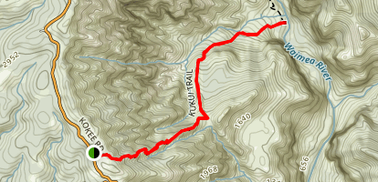 Kukui Trail Map