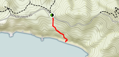 Upper Fishermans Trail Map