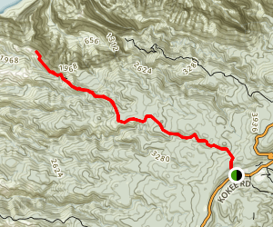 Nu'alolo Trail Map