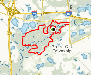 Blue and Yellow Trail Loop Map