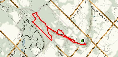Rattlesnake Point Trail Map