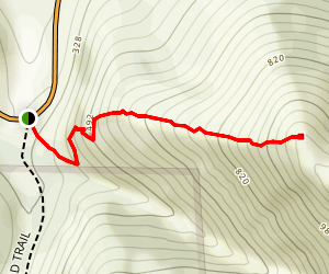 Pleasants Ridge Trail Map
