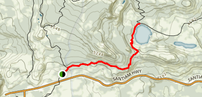 Square Lake Map