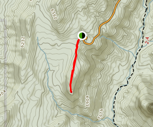 Timber Creek Overlook Trail Map