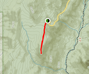 Timber Creek Overlook Trail (CLOSED) Map