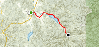Row River Trail Map