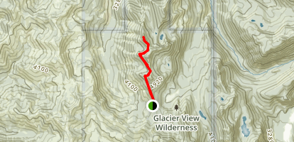 Glacier View Trail (#267) Map