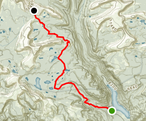 Three Lakes Map