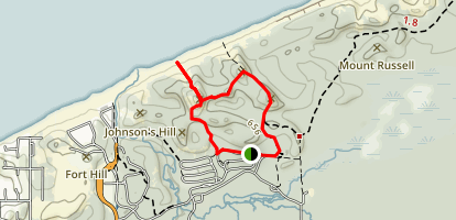 Indiana Dunes State Park Loop Map
