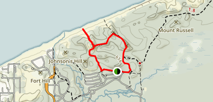 Three Dunes Challenge Loop Map
