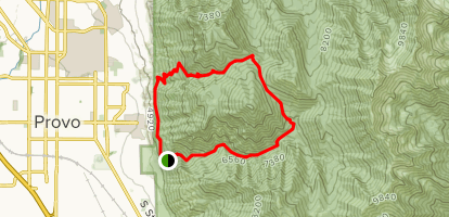 Slate Canyon Loop Trail Map