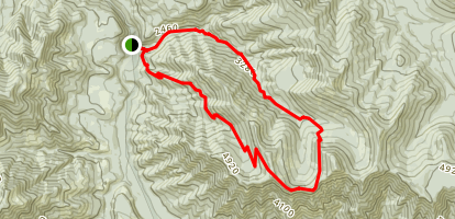 Rebel Rock Trail Map