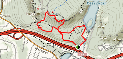 Castle Craig and East Slope Map