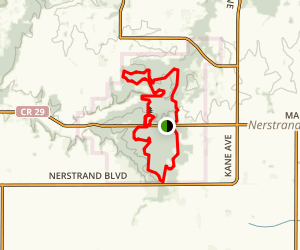 Nerstrand Big Woods State Park Trails Loop Map